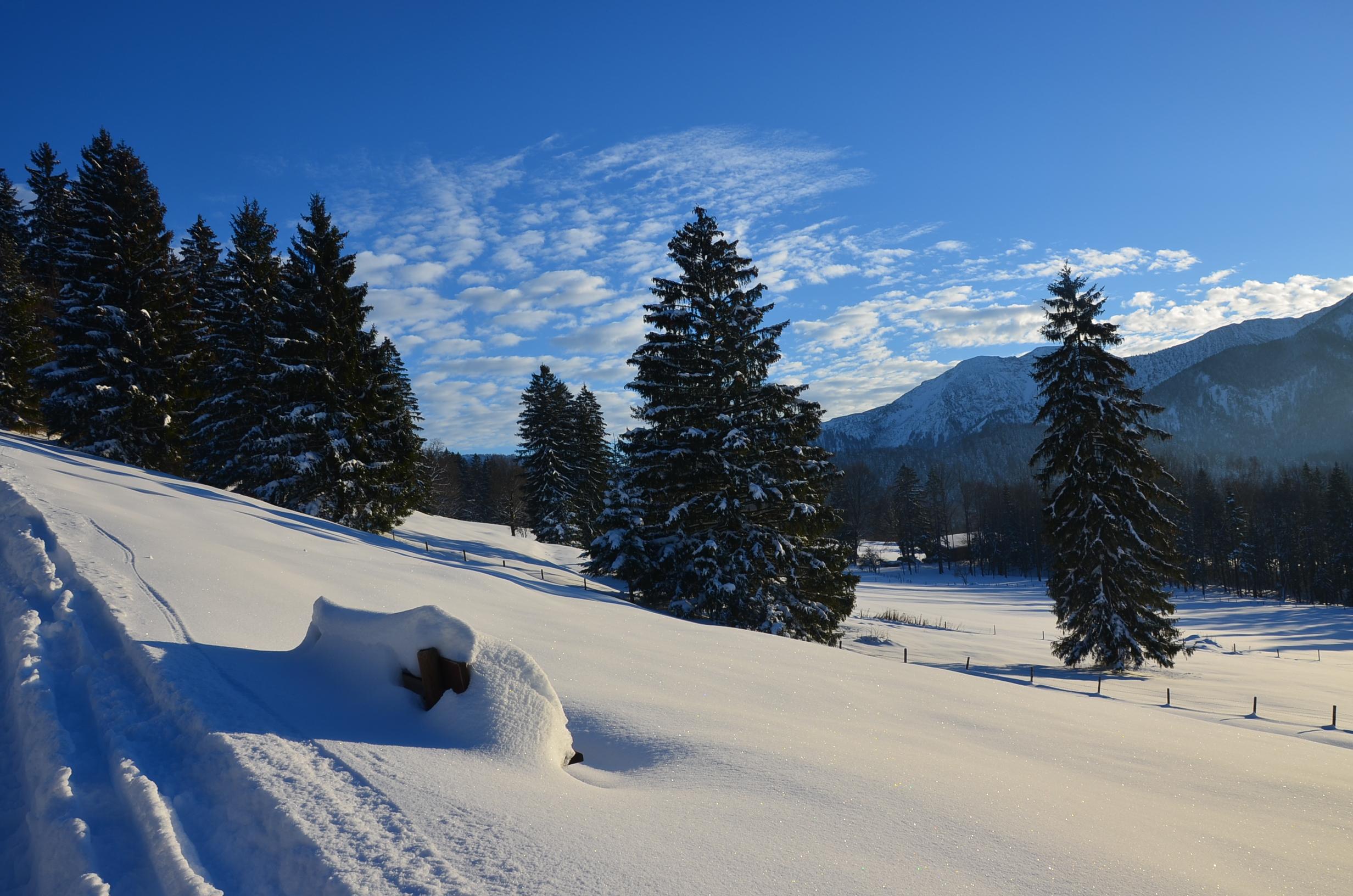 Winter in Fischbachau