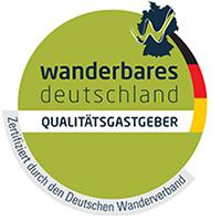 Wanderbares Deutschland Qualitätsgastgeber Gästehaus Sonnenbichl