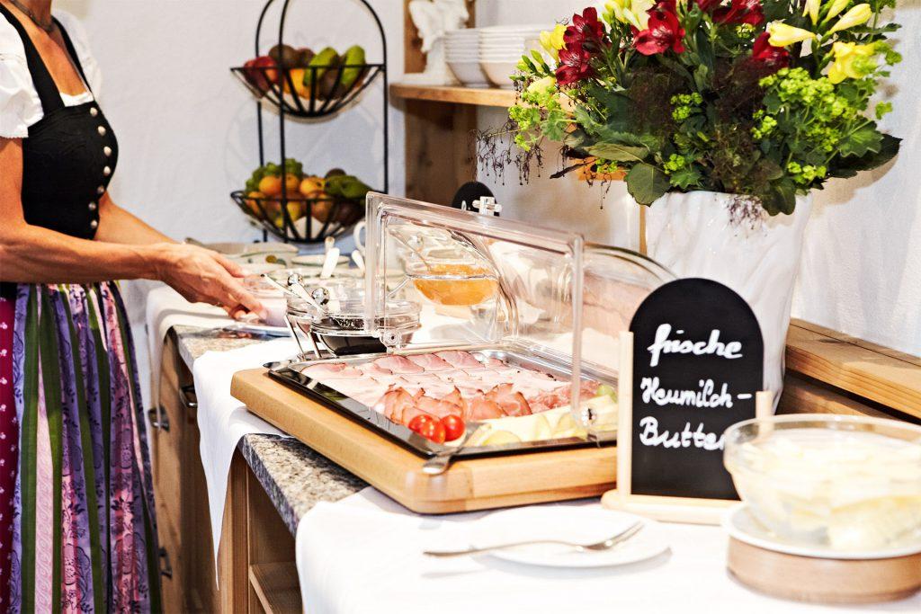 Sonnenbichl Frühstück Fischbachau